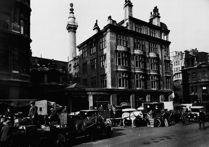 Eastcheap, south side: 20th century