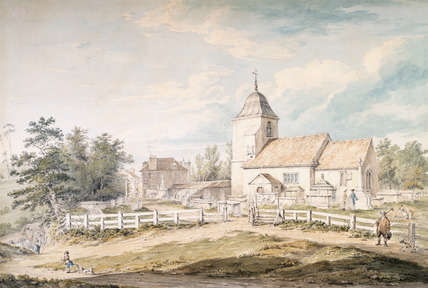 View of the Church of St Pancras in the County of Middlesex: 18th century