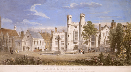 Lambeth Palace, The residence of his Grace the Archbishop of Canterbury: 19th century