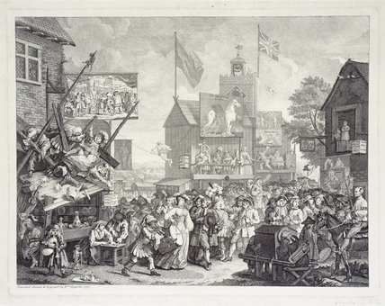 Southwark Fair: 18th century