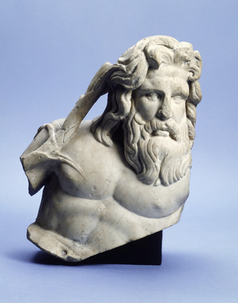 Roman sculpture of a River God