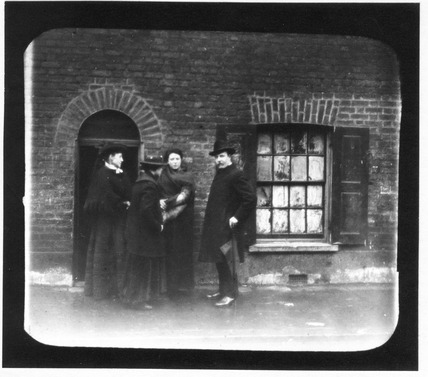 Missionaries from the London City Mission: c.1900