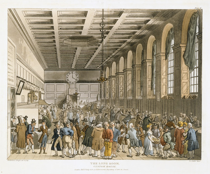 The Long Room Custom House: 1808