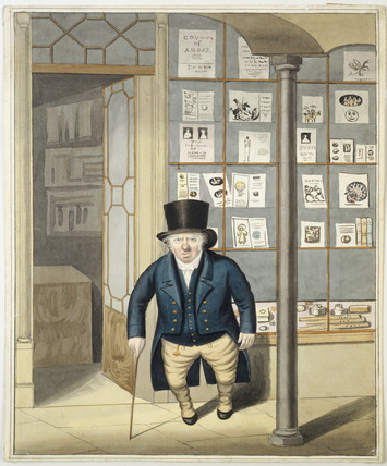 Unidentified owner of a print shop: c.1820