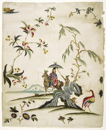Eighteenth century wallpaper: 18th century