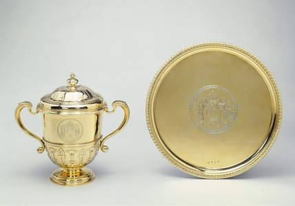 Cup and salver: 1715