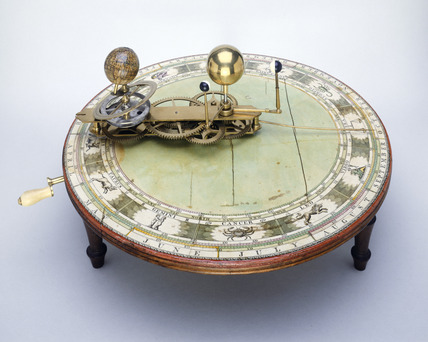 Mechanical orrery: 18th century