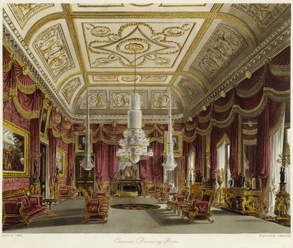 The Crimson Drawing Room, Carlton House: 1819