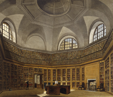 Kings Library, Buckingham House: 1819