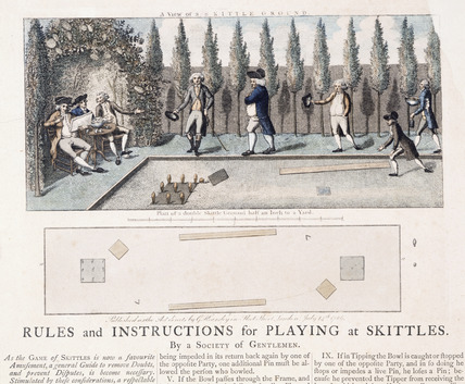 Game rules and instructions: 1786
