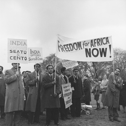 A May Day protest in London: 1960
