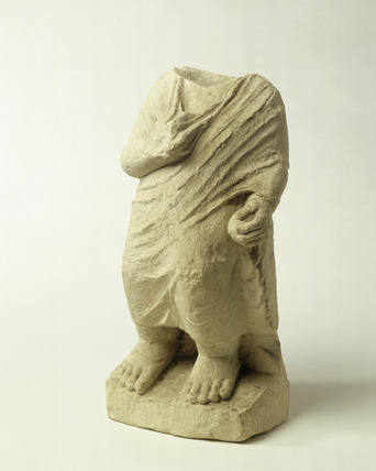 Fragment of a Roman statue of a child