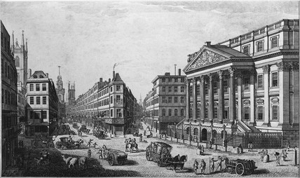A view of the mansion house apointed for the residence of the Lord Mayor of London: 1794