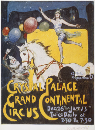 Grand Continental Circus at Crystal Palace: 20th century