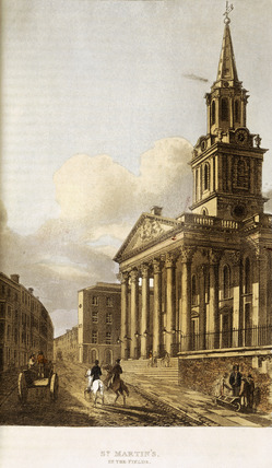 St Martin's in the Fields: 1815