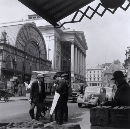 Covent Garden Market: 20th century