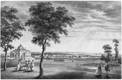 A View of Foots Cray Place in Kent, the Seat of Bourchier Cleeve Esqr.: 18th century