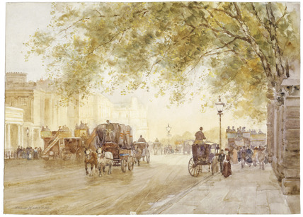 Hyde Park Corner: late 19th -early 20th century