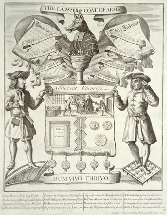 The Lawyer's Coat of Arms: 18th century