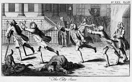 The City Race: 1771