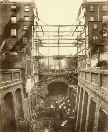 Construction at Leinster Gardens: 1866-1868