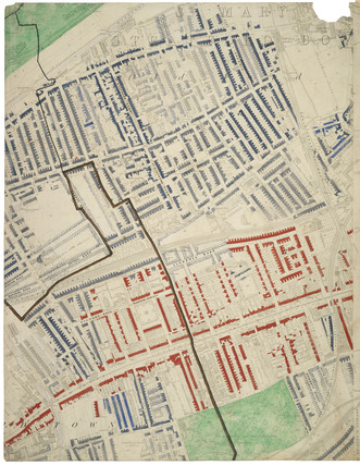 Descriptive map of London Poverty: Section 20: 1889