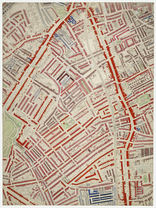 Descriptive map of London Poverty: Section 46: 1889