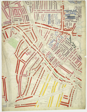 Descriptive map of London Poverty: Section 60: 1889