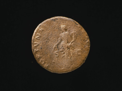Coin of Fortuna, reverse: 88 - 89AD