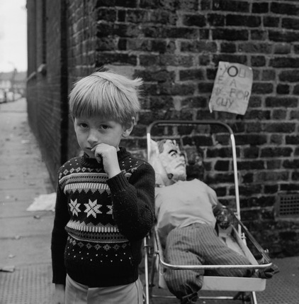 Boy with Guy Fawkes: 1969