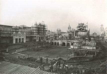 White City under construction: 1907-1908