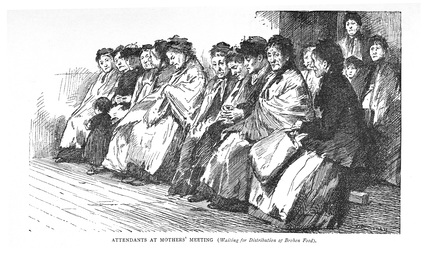 Attendants at Mother's Meeting: C.1900