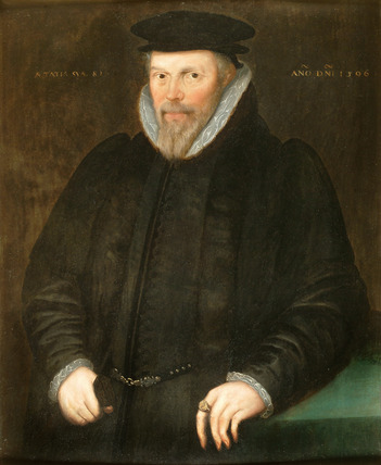 Portrait of Gamaliel Pye: 1596