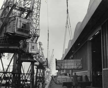 'M' shed South West India Dock: 1967
