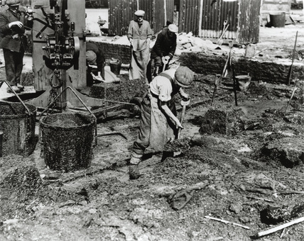 Sugar salvage during WWII