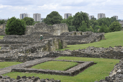 Lesnes Abbey; 2009