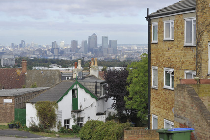 View of the City from Shooters Hill; 2009