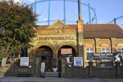 Livesey Memorial  Hall, 2009