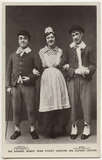 George Robey; Violet Loraine and Alfred Lester in 'The Bing Boys Are Here'