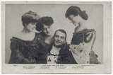 Miss G. Thornton as Lady Gwendoline; Miss Hammerton as The Hon. I.O. Ewe; Sir Henry Alfred Lytton as Dick Wargrave; Miss Ricards as Bertha Late in 'The Earl and the Girl'