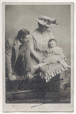 Robert Henry Kennerley-Rumford and Dame Clara Ellen Butt with their son