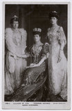 Alexandra of Denmark with two of her daughters