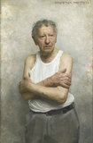 Portrait of Sam Goldofsky, Survivor of Auschwitz by David Jon Kassan