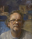 Self-Portrait by Julian Merrow- Smith
