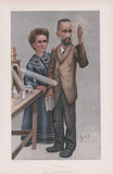 "Marie Curie, Pierre Curie ('People of the Day. No. 1 ""Radium - Jehu Junior""'"