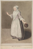 Mary Bradshaw in Garrick's 'The Farmer's Return from London'