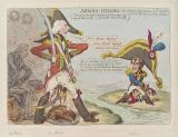 'Armed-heroes' (Robert Jenkinson, 2nd Earl of Liverpool; Henry Addington, 1st Viscount Sidmouth; Napoléon Bonaparte)