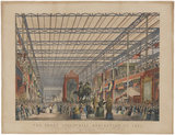 The Great Industrial Exhibition of 1851. Plate 2. The Foreign Nave