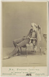 Sir Henry Irving as Mathias in 'The Bells'