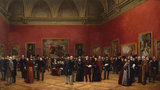 Private View of the Old Masters Exhibition, Royal Academy, 1888